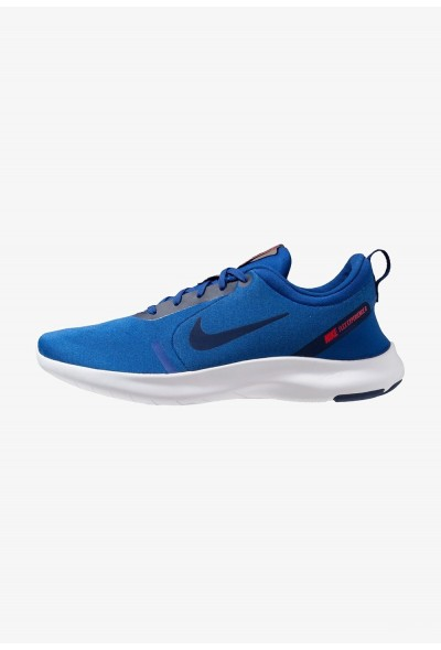 Nike FLEX EXPERIENCE RN 8 - Chaussures de course neutres indigo force/blue void/photo blue/red orbit/white liquidation