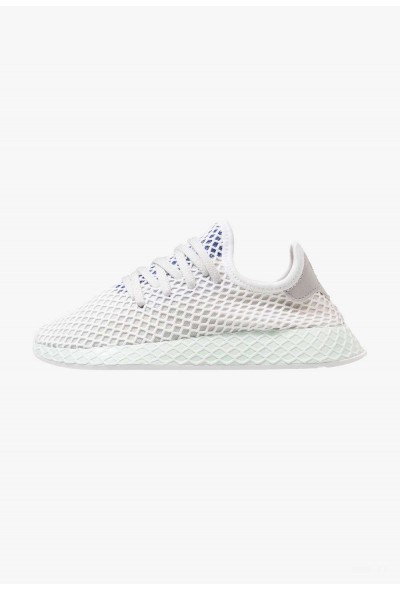 Adidas DEERUPT RUNNER - Baskets basses grey one/footwear white/ice mint pas cher