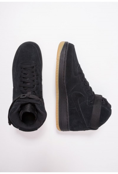 Black Friday 2020 | Nike AIR FORCE 1 LV8 - Baskets montantes black/light brown liquidation