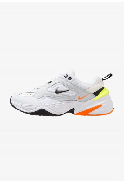 Nike M2K TEKNO - Baskets basses pure platinum/black/sail/white/volt/total orange liquidation