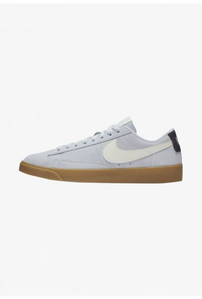 Nike BLAZER - Baskets basses - blue/black/off blue/black/off-white liquidation