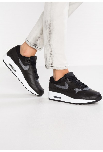 Nike AIR MAX 1 - Baskets basses black/dark grey/white liquidation