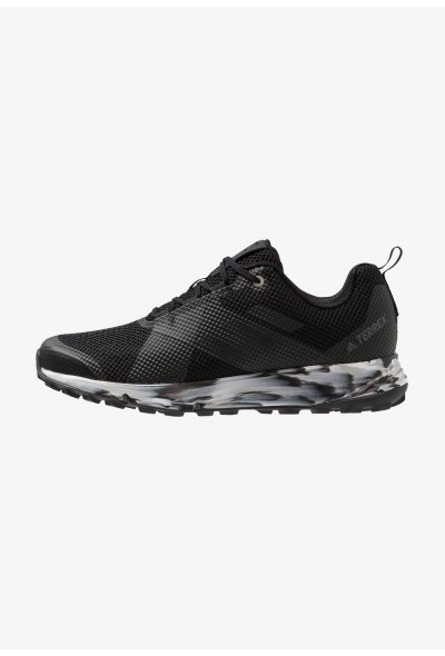Adidas TERREX TWO - Chaussures de marche core black/carbon/grey one pas cher