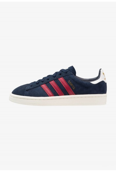 Adidas CAMPUS - Baskets basses collegiate navy/collegiate burgundy/offwhite pas cher
