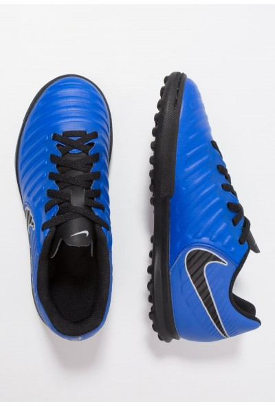Nike TIEMPO LEGENDX 7 CLUB TF - Chaussures de foot multicrampons racer blue/black/wolf grey liquidation