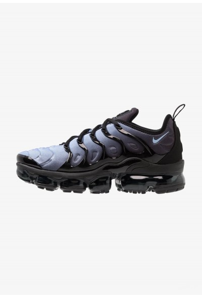 Nike AIR VAPORMAX PLUS - Baskets basses black/aluminium liquidation
