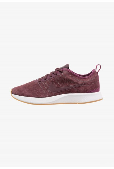 Nike DUALTONE RACER SE - Baskets basses deep burgundy/bordeaux/white/light brown liquidation