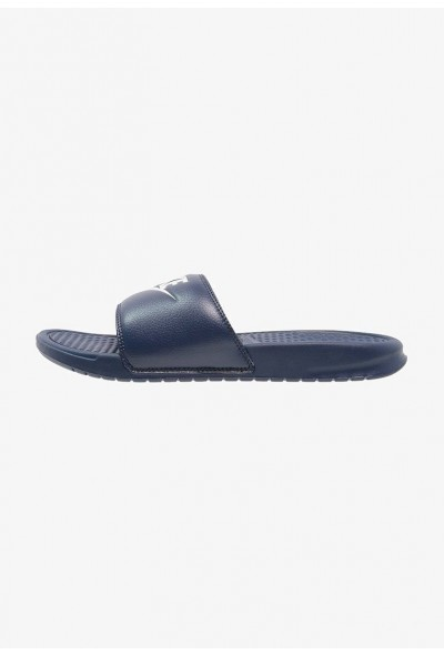 Black Friday 2020 | Nike BENASSI JDI - Sandales de bain midnight navy/windchill liquidation