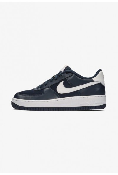 Nike AIR FORCE - Baskets basses dark blue/coral/white liquidation