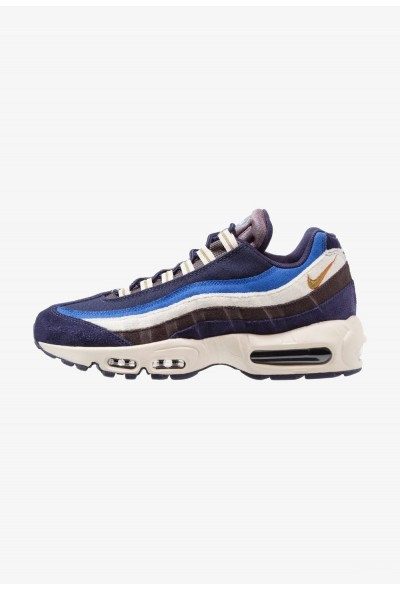 Nike AIR MAX 95 PRM - Baskets basses blackened blue/camper green/monarch/light cream/game royal/thunder blue liquidation