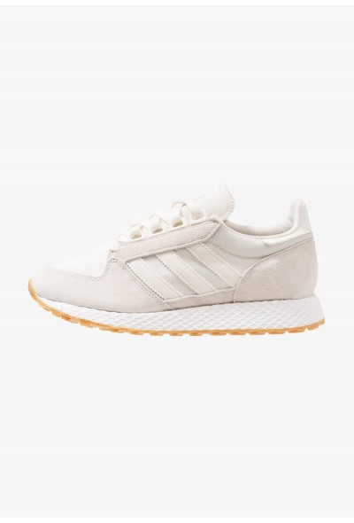 Adidas FOREST GROVE - Baskets basses cloud white/footwear white pas cher