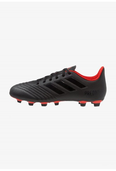 Adidas PREDATOR 19.4 FXG - Chaussures de foot à crampons core black/active red pas cher