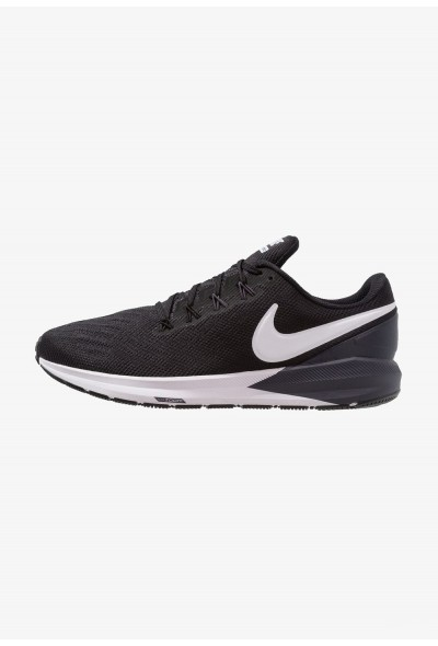 Black Friday 2020 | Nike AIR ZOOM STRUCTURE  - Chaussures de running stables black/white/gridiron liquidation