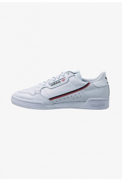 Adidas CONTINENTAL 80 - Baskets basses aerblu/scarlet/conavy pas cher