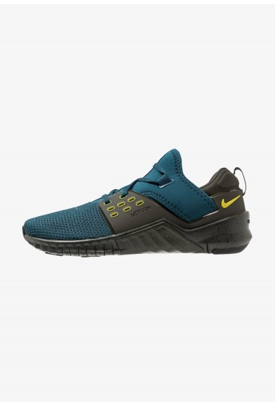 Black Friday 2020 | Nike FREE METCON 2 - Chaussures d'entraînement et de fitness nightshade/bright citron/sequoia liquidation