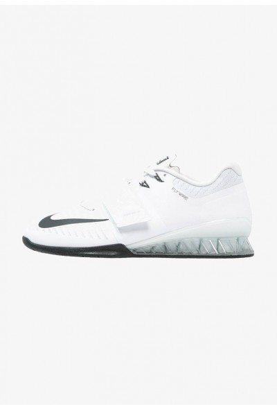 Black Friday 2020 | Nike ROMALEOS 3 - Chaussures d'entraînement et de fitness white/black/volt liquidation