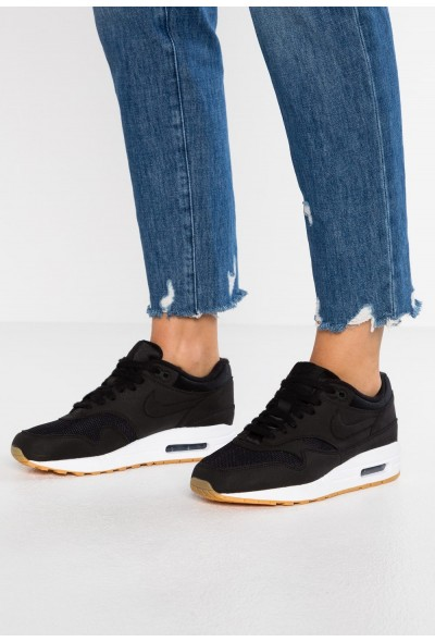 Black Friday 2020 | Nike AIR MAX 1 - Baskets basses black/light brown liquidation