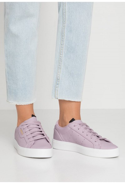 Adidas SLEEK - Baskets basses soft vision/crystal white pas cher