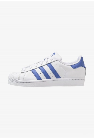 Adidas SUPERSTAR - Baskets basses footwear white/real lilac pas cher
