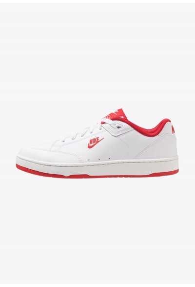 Nike GRANDSTAND II - Baskets basses white/university red liquidation