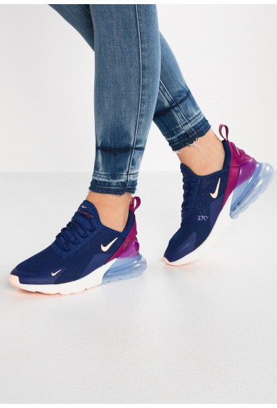 Nike AIR MAX 270 - Baskets basses blue void/crimson tint/true berry/platinum tint/space purple liquidation
