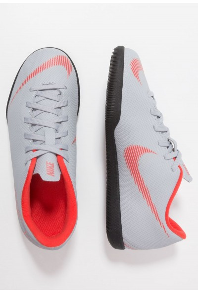 Black Friday 2020 | Nike MERCURIAL VAPORX 12 CLUB IC - Chaussures de foot en salle wolf grey/light crimson/black liquidation