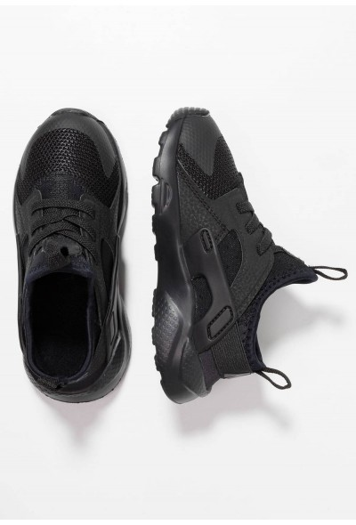 Black Friday 2020 | Nike HUARACHE RUN ULTRA  - Chaussures premiers pas black liquidation