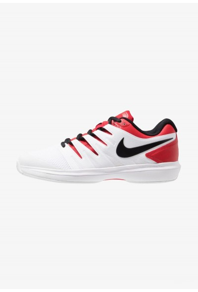 Nike AIR ZOOM PRESTIGE HC - Baskets tout terrain university red/black/white liquidation