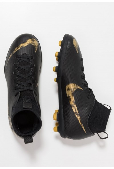 Nike CLUB MG - Chaussures de foot à crampons black/metallic vivid gold liquidation