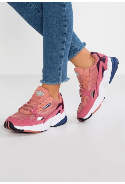Adidas FALCON - Baskets basses raw pink/dark blue pas cher