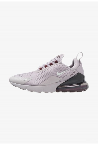 Nike AIR MAX 270 - Baskets basses atmosphere grey/light silver/burgundy crush liquidation