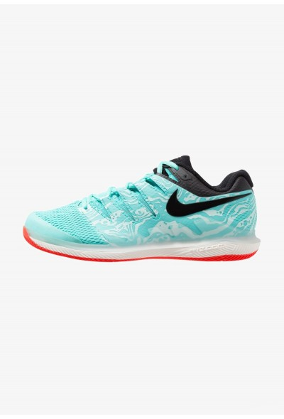Nike AIR ZOOM VAPOR X HC - Baskets tout terrain aurora green/black/teal tint/phantom/bright crimson liquidation