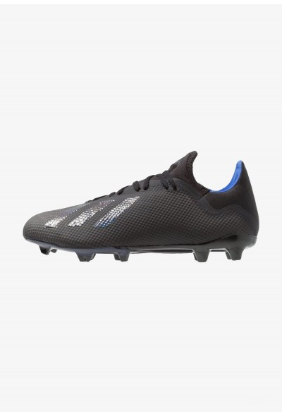 Black Friday 2019 | Adidas X 18.3 FG - Chaussures de foot à crampons core black/bold blue pas cher