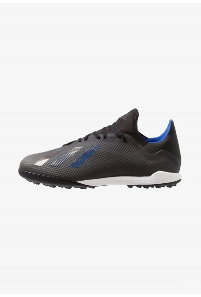 Adidas X 18.3 TF - Chaussures de foot multicrampons core black/bold blue pas cher