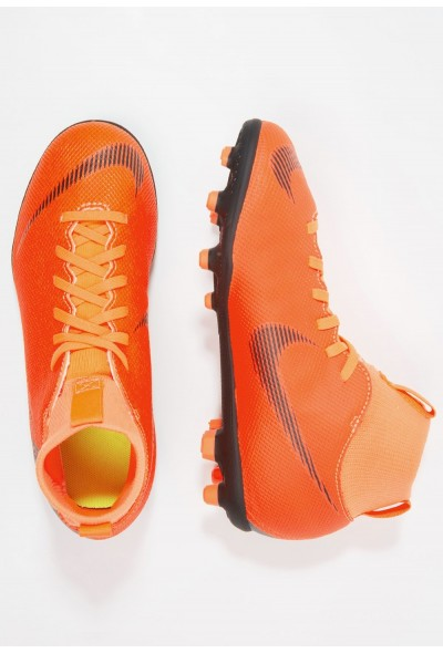 Nike CLUB MG - Chaussures de foot à crampons total orange/white/volt/black liquidation