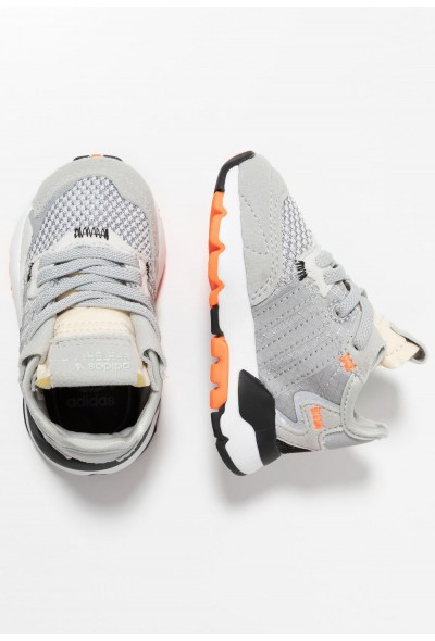 Cadeaux De Noël 2019 Adidas NITE JOGGER - Mocassins grey two/grey three/solar orange pas cher