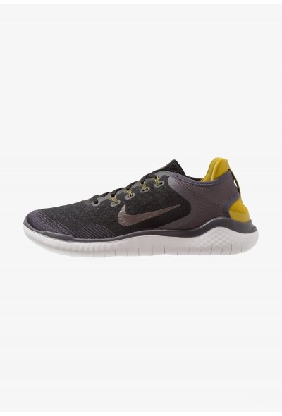 Nike FREE RN 2018 - Chaussures de course neutres black/metallic pewter/peat moss/thunder grey/vast grey liquidation