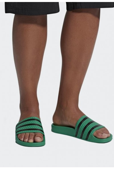 Adidas ADILETTE SLIDES - Mules green pas cher
