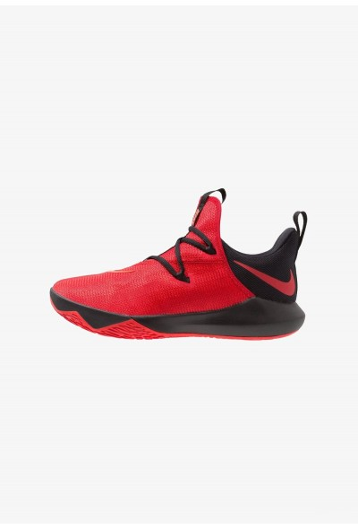 Nike ZOOM SHIFT 2 - Chaussures de basket university red/black/bright crimson liquidation
