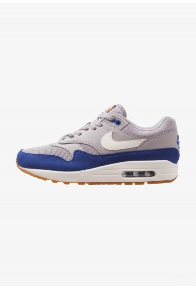 Nike AIR MAX 1 - Baskets basses atmosphere grey/deep royal blue/sail/medium brown/vachetta tan liquidation