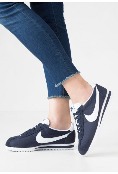 Black Friday 2020 | Nike CLASSIC CORTEZ - Baskets basses obsidian/white liquidation