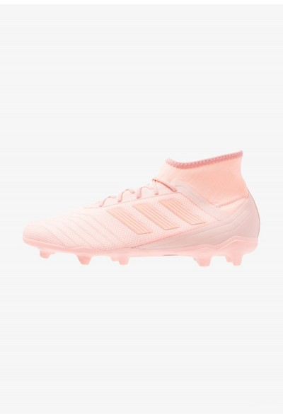 Adidas PREDATOR 18.2 FG - Chaussures de foot à crampons clear orange/trace pink pas cher