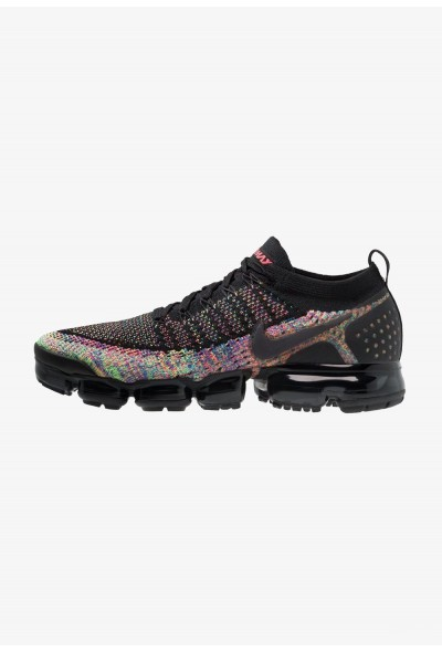 Black Friday 2020 | Nike AIR VAPORMAX FLYKNIT - Chaussures de running neutres black/multicolor liquidation