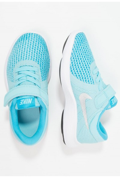 Cadeaux De Noël 2019 Nike REVOLUTION 4 - Chaussures de running neutres bleached aqua/metallic silver/light blue fury/white liquidation