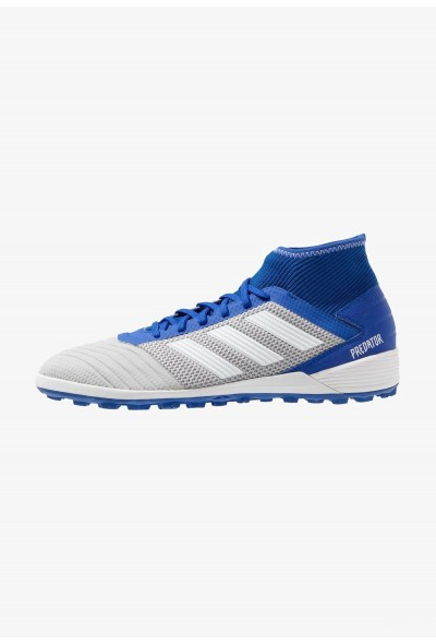 Adidas PREDATOR 19.3 TF - Chaussures de foot multicrampons grey two/footwear white/bold blue pas cher