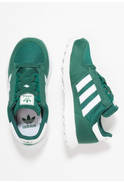 Black Friday 2019 | Adidas FOREST GROVE - Baskets basses collegiate green/footwear white pas cher