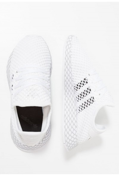 Adidas DEERUPT RUNNER - Baskets basses footwear white/core black/grey two pas cher