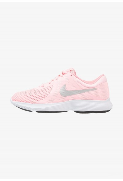 Nike REVOLUTION 4 - Chaussures de running neutres arctic punch/metallic silver/sunset pulse liquidation