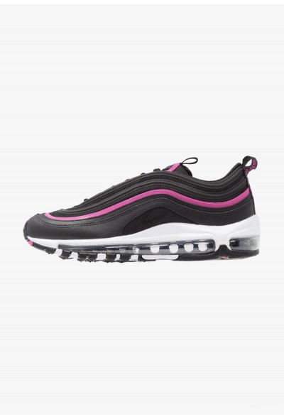 Nike AIR MAX 97 LUX - Baskets basses black/active fuchsia liquidation
