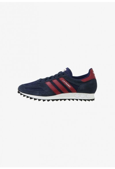 Adidas LA TRAINER - Baskets basses navy/burgundy/dark blue pas cher